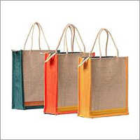 Indian Stallion Trendy Plain 3 Jute Lunch Bag