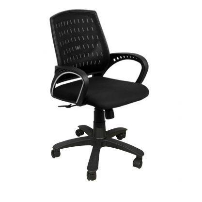 Black Low Back Mesh Chair