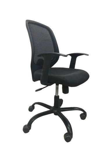 Push Back Mesh Chair