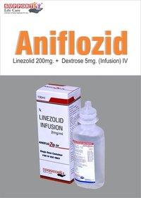 Linezolid 200mg + Dextrose 5gm