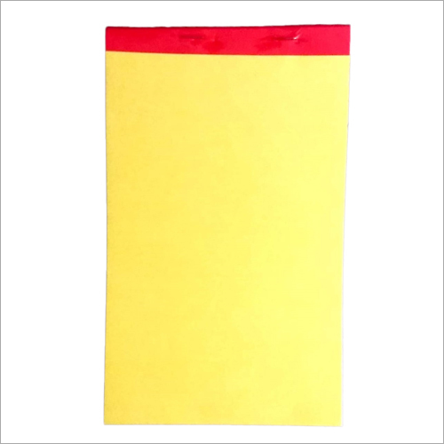 Yellow Note Pad
