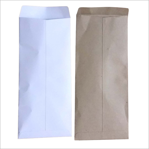 White And Brown Paper Envelope