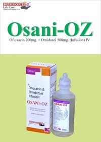 Ofloxacin 200mg + Ornidazole 500mg IV