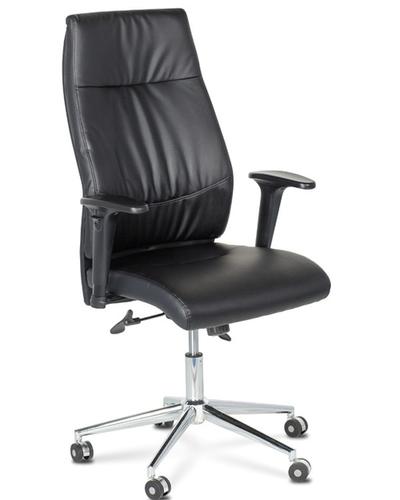 Black High Back Cushion Chair