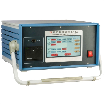 YRD-YRE type Transformer Resistance Test Instrument