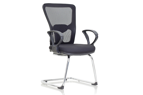 Conference Mesh Back Cushion Chair