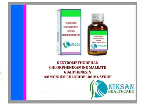 Dextromethorphan Cpm Guaiphenesin & Ammonium Syrup