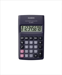 Casio HL-815L-BK Portable Calculator