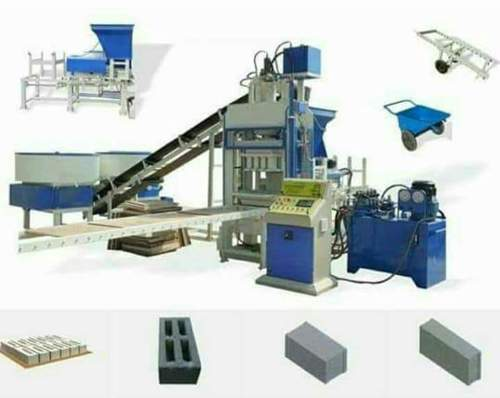 Commercial fly ash bricks machine