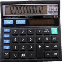 Citizen CT-512 Basic Calculator  (12 Digit)