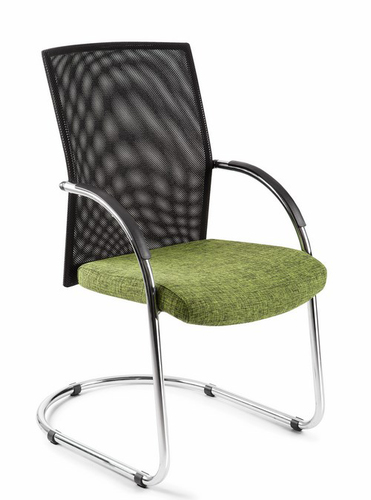 Cantilever Mesh Back Chair