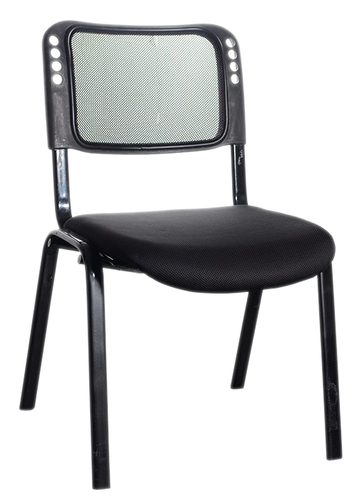 Four Leg Mesh Back Visitor Chair