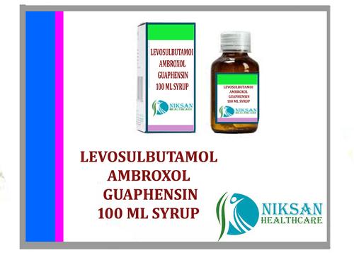 Levosulbutamol Ambroxol & Guaphensin Syrup