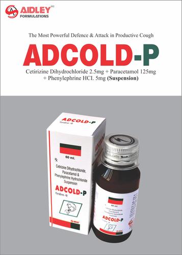 Anti Cold- Cetirizine 2.5mg + Paracetamol 125mg + Phenylepherine 5mg/5ml