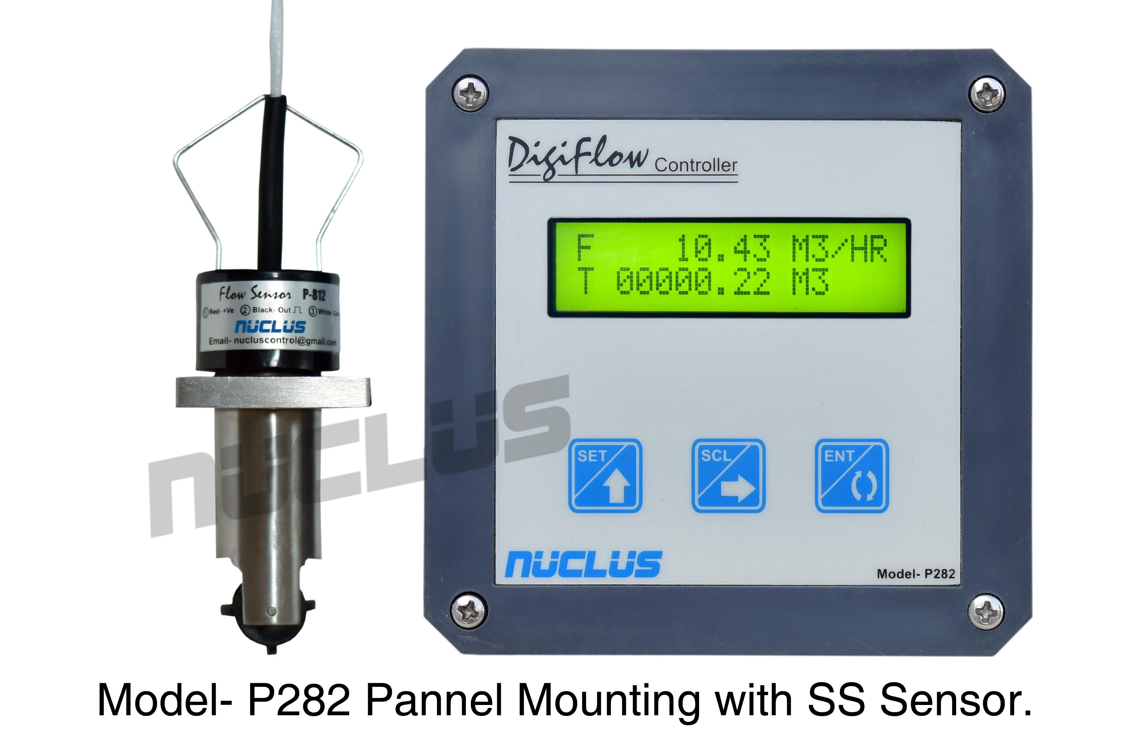 Digital Flow Controller Panel Mounting