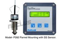 Digital Flow Controller Panel Mounting Meter