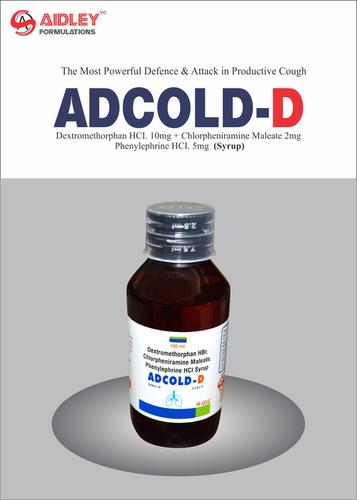Dextromethorpan Hydrobromide 10mg + Chlorpheniramine Maleate 2+ Phenylepherine Hydrochloride 5mg