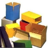Multi colour Corrugated Box
