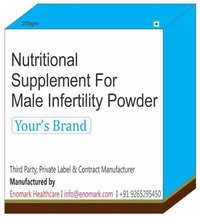 Nutritional supplement for Male Infertility Powder