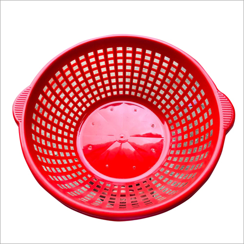 Round Plastic Mesh Basket