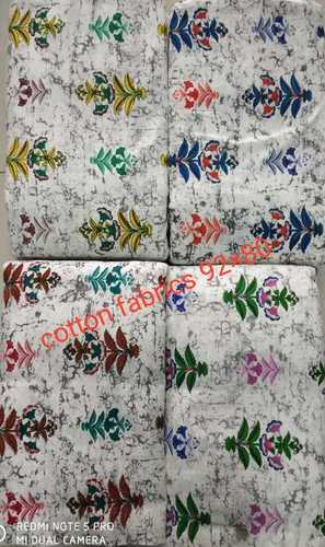 Screen printing Cotton fabric