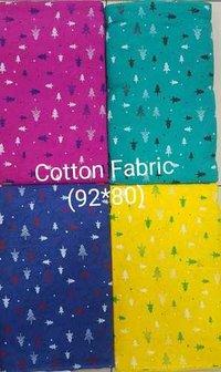 Screening Print Cotton Fabric