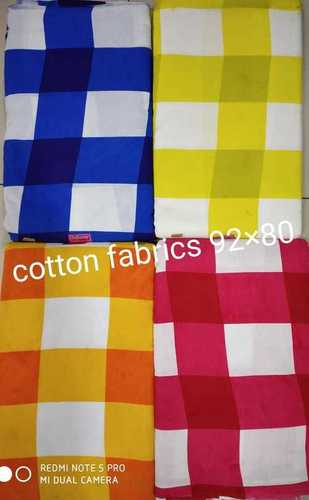 Square Blockprint Cotton Fabric