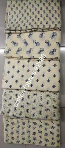 Screening Printing Cotton Fabrics
