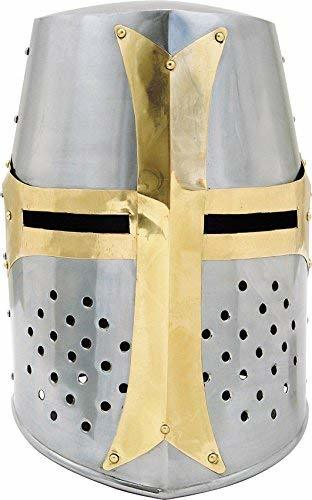 Brass Crusader Helmet