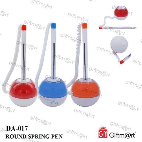 Round Spring Pen
