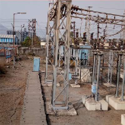 Towers Substation Structure Fabrication