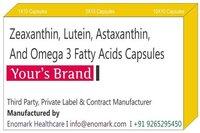 Zeaxanthin Lutein Astaxanthin Omega 3 fatty acids Capsules