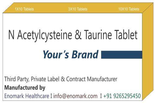 N Acetylcysteine & Taurine Tablet
