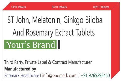 ST John Melatonin Ginkgo Biloba And Rosemary Extract Tablets