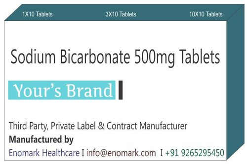 Sodium Bicarbonate 500mg Tablets