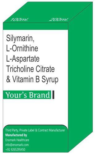 Silymarin L-Ornithine L-Aspartate Tricholine Citrate & Vitamin B Syrup