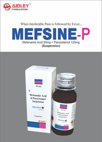 Mefenamic acid 50mg + Paracetamol 125mg