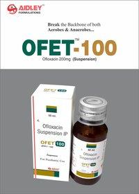 Ofloxacin 100mg  Syrup