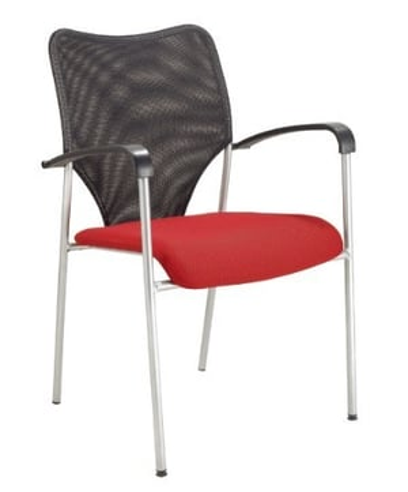 Reception Mesh Back Cushion Chair