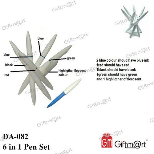 6 in 1 Pen Set