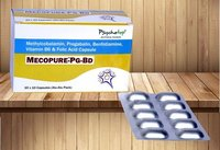 Methylcobalamin 750 Mcg, Pregabalin 75 Mg,Benfothiamine 7.5 Mg,Vit. B6 1.5 Mg,Folic Acid 0.75 Mg