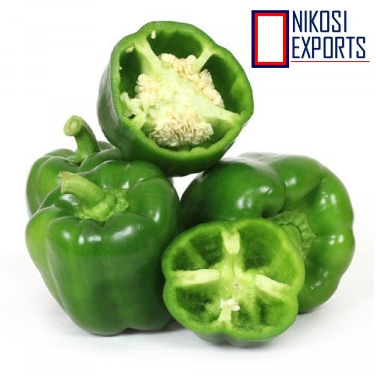 Organic Green Capsicum