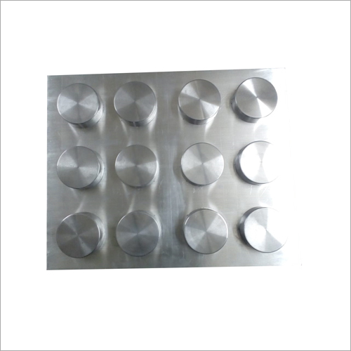 Vacuum Formed Aluminum Round Cavity Tray