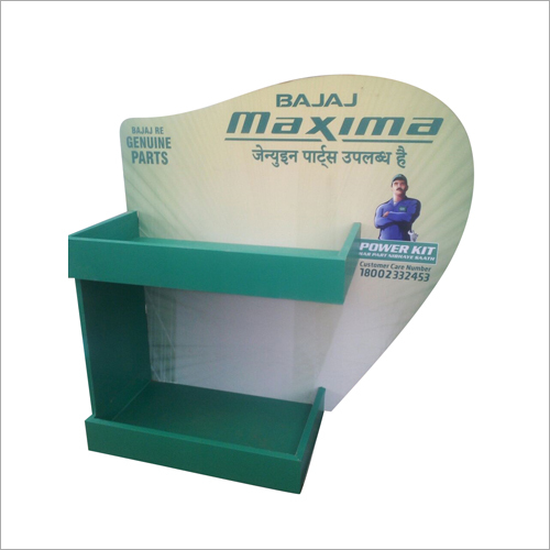 Vacuum Formed Plastic Display Stand