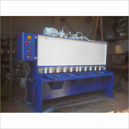 Variable Rake Hydraulic Shearing Machine