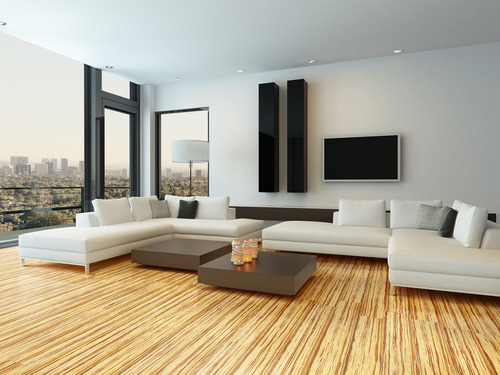 Bamboo Wooden Flooring