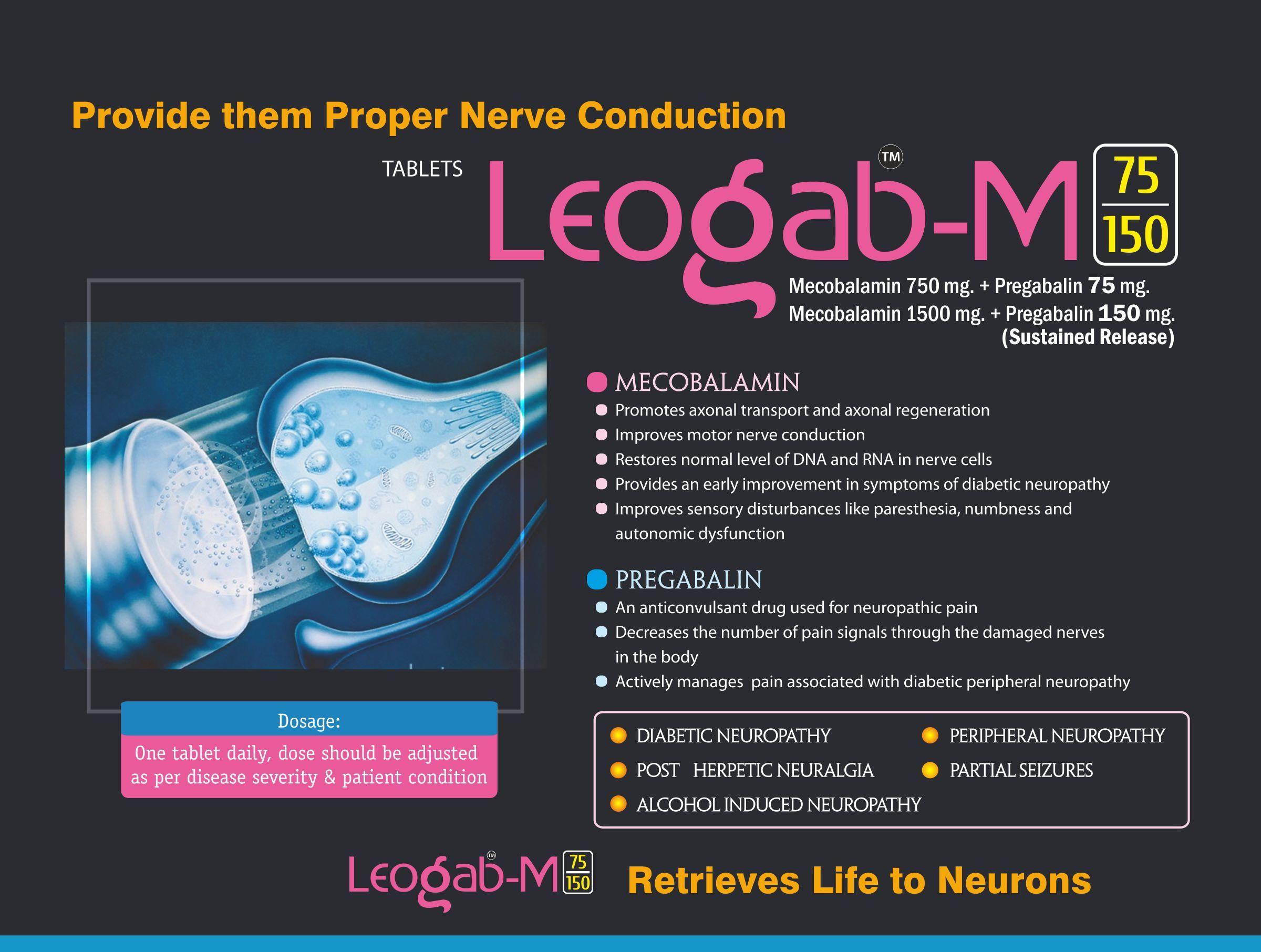 Mecobalamin & Pregabalin Tablet