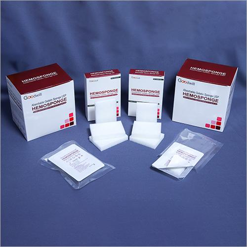 Absorbable Hemostatic Gelatin Sponge