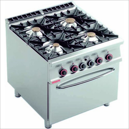 Four Burner Continental Cooking Range