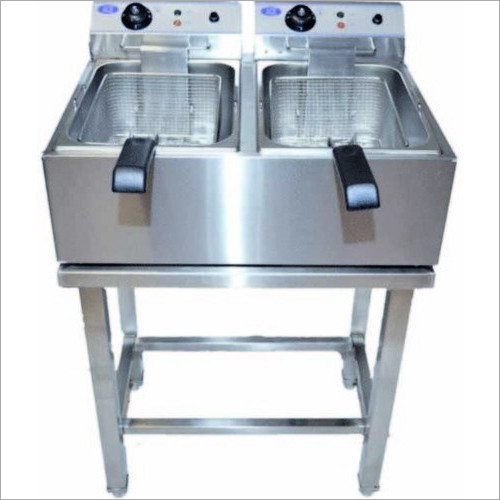 Electric Double Deep Fat Fryer Floor